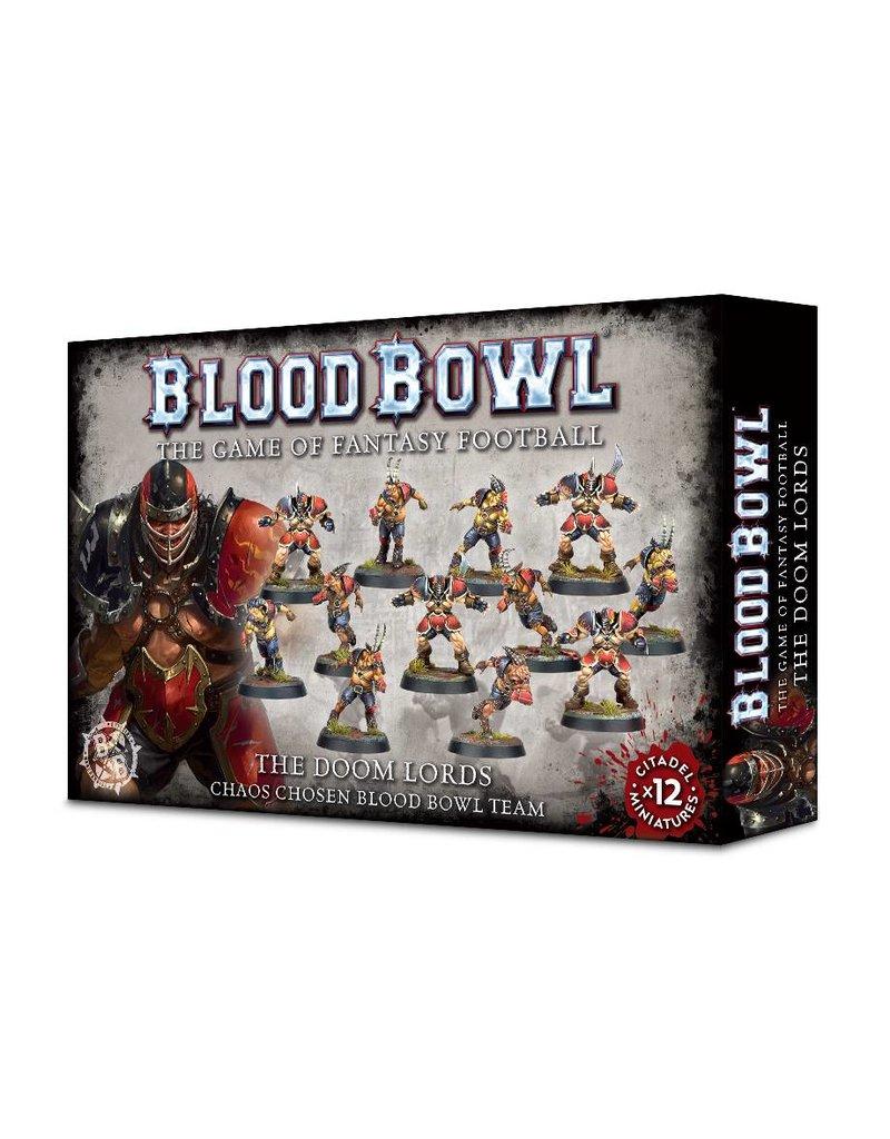 Games Workshop Blood Bowl: Doom Lords Team