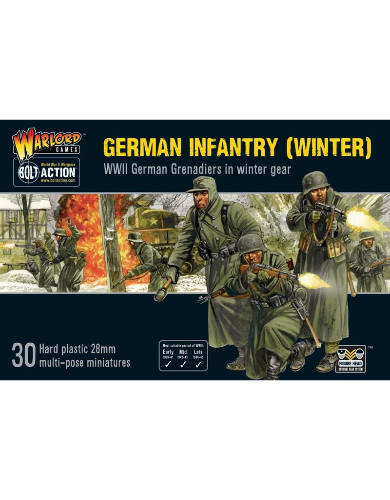 Warlord Games German Infantry (Winter) Box Set