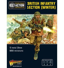 Warlord Games British Infantry section (Winter)