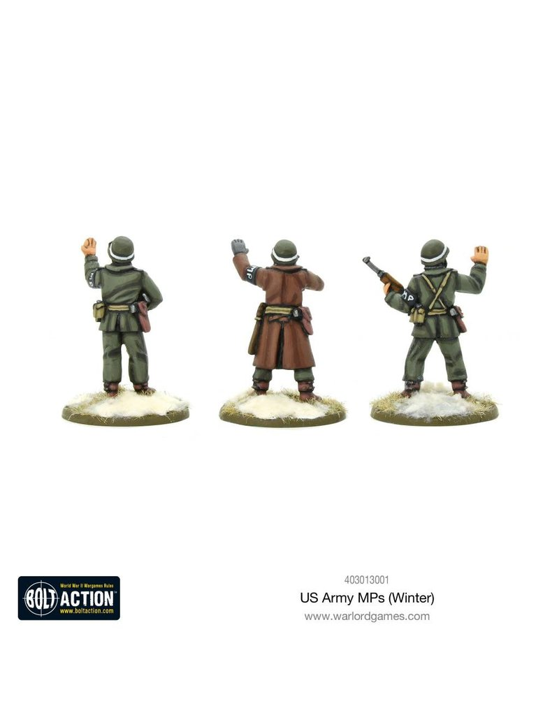 Warlord Games US Army MPs (Winter) Box Set