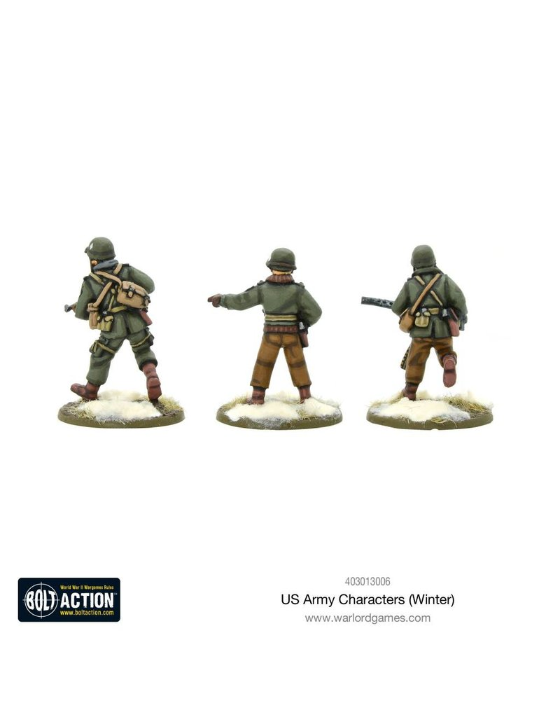 Warlord Games US Army Characters (Winter) Box Set