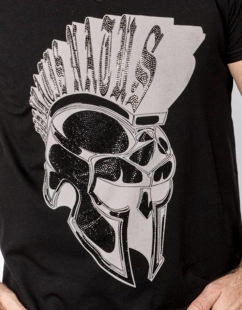 V-Shirt Iro bling double