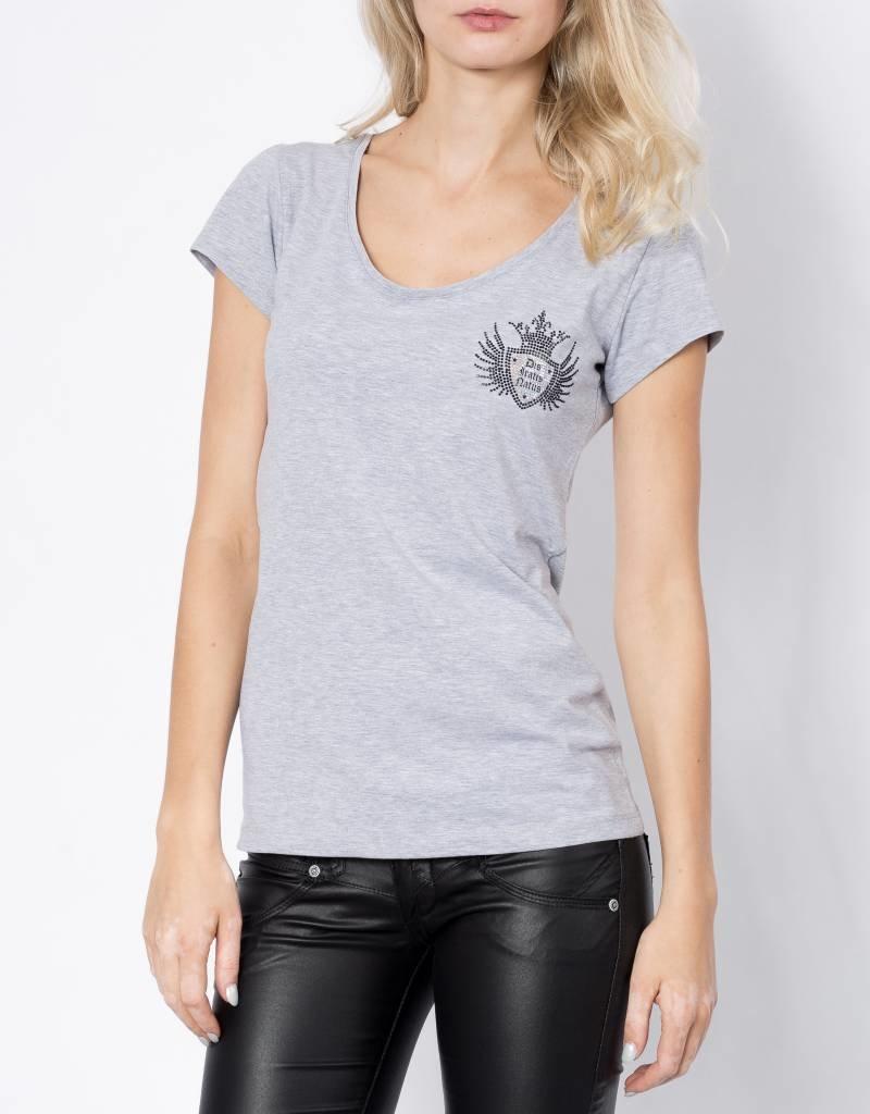 Girls V-Shirt Logocross bling