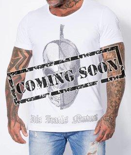 zR-Shirt Skull/Helm bling bling