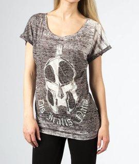 DIN Dis Iratis Natus Girls Summer Shirt Oversize schwarz