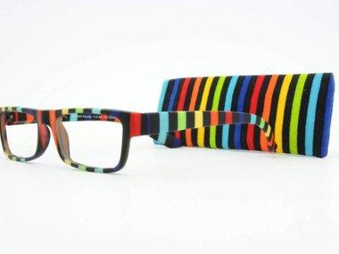 Augenstolz Stripes Gaudy - leesbril