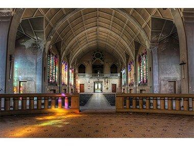 Mondi-Art Alu Art The Chapel 120x180