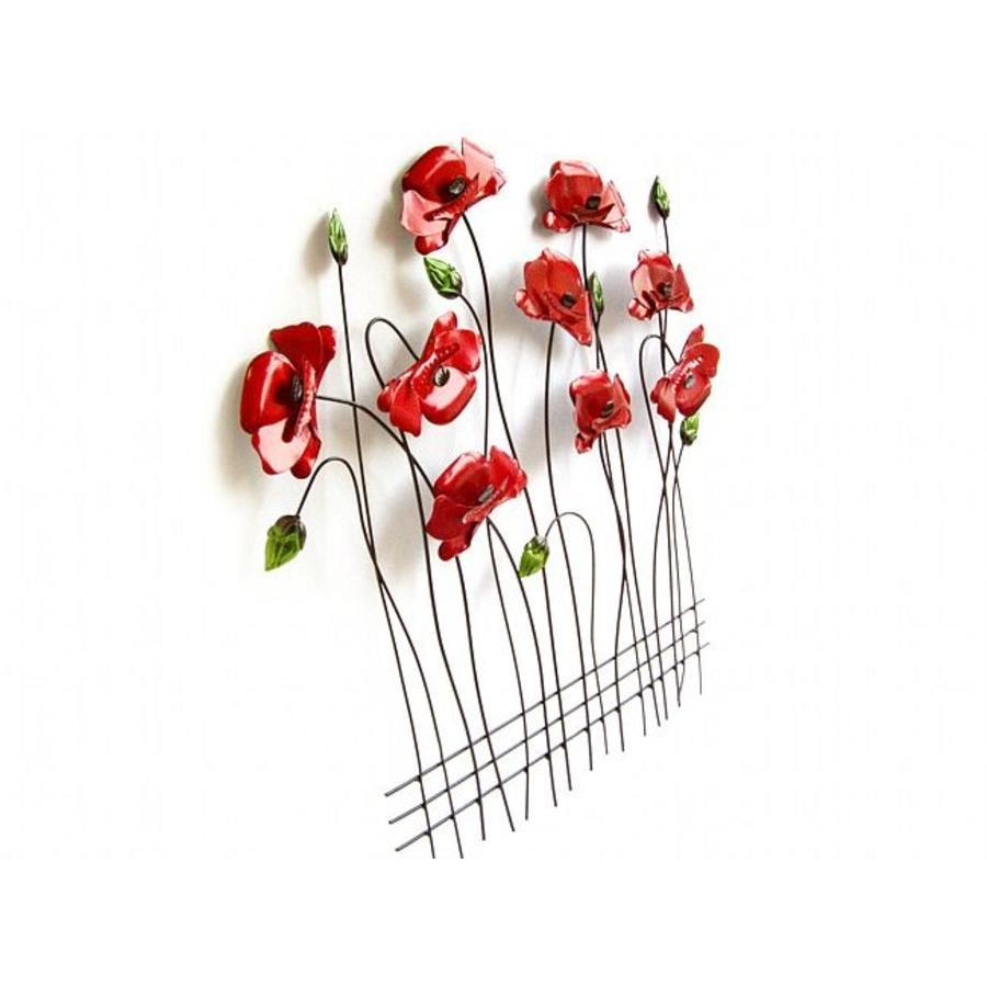 Sampaguita Wall Art Poppies