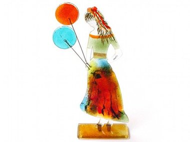 Eratini Girl with Colored Balloons