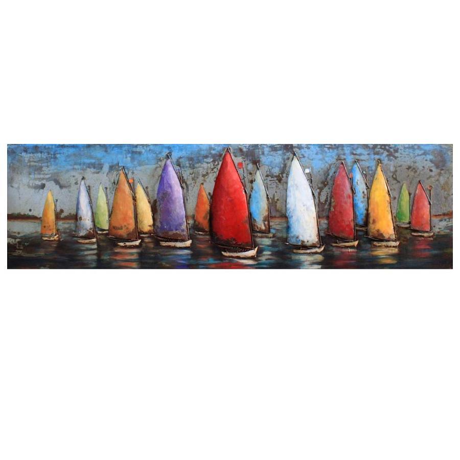 Gave Specials Metal Art Sailing Boats