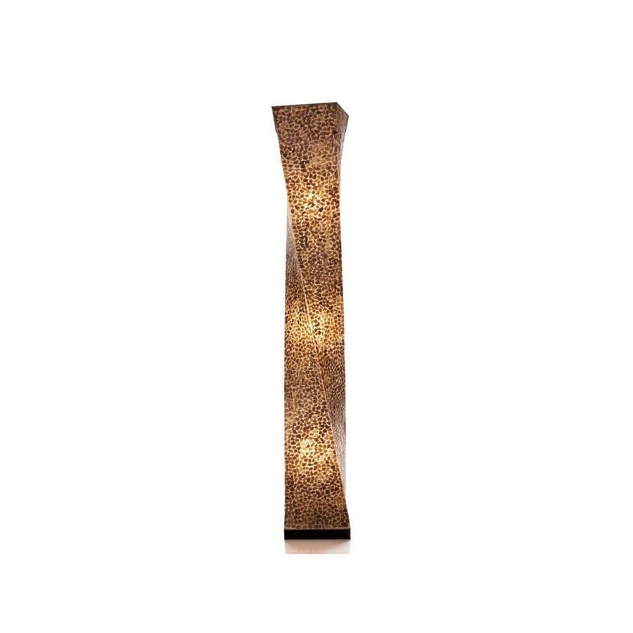 Wangi Gold - vloerlamp - Twisty - 150 cm