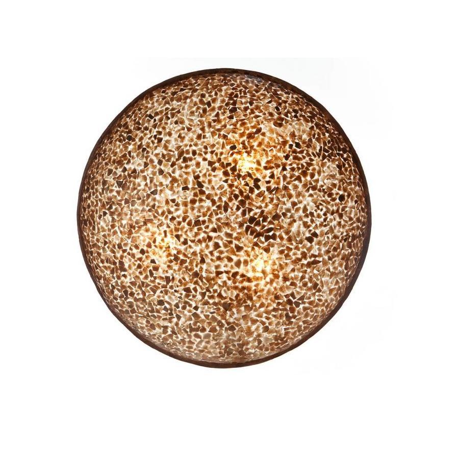 Wangi Gold - wand- of plafondlamp - Moon - Ø 85 cm