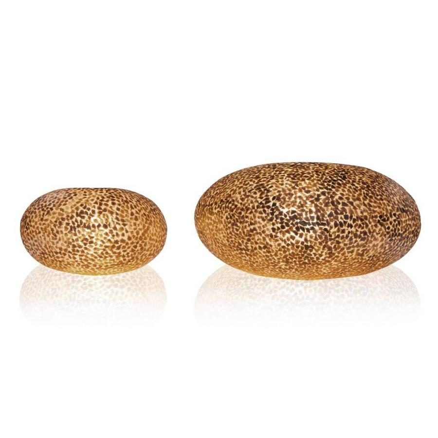 Wangi Gold - tafellamp - UFO - Ø 40 cm
