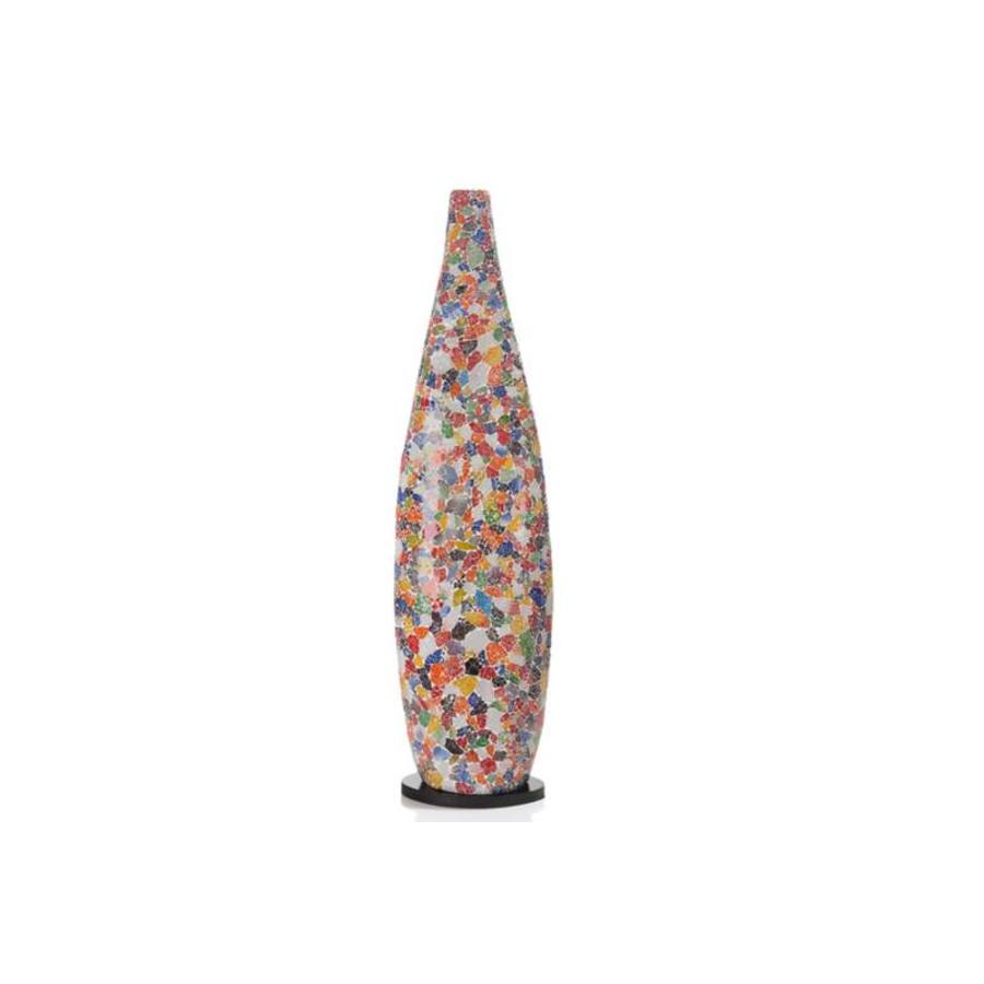 Glass Multicolor - vloerlamp - Bottle XL
