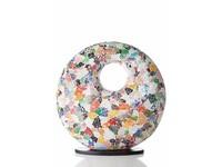 Glass Multicolor - tafellamp - Donut