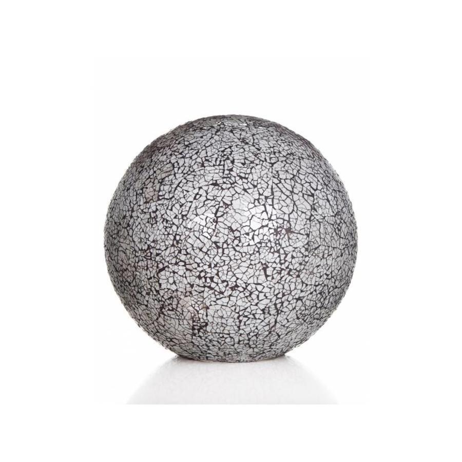 Glass White - tafellamp - Staande bol - Ø 40 cm
