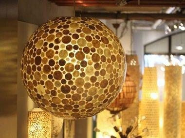 Schelpen-hanglampen