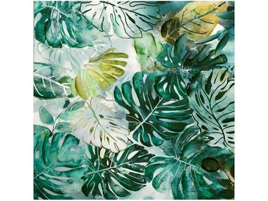 Image land Painting Leaves, Square 100x100