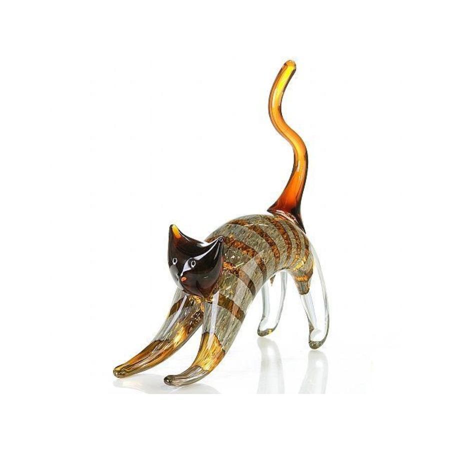 Casablanca Glassculptuur 'Kat'