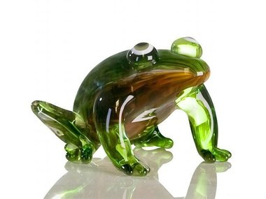 Casablanca Glassculptuur 'Kikker'
