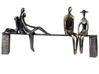 Casablanca Figuur 'Leisure' brons