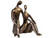 Casablanca Figuur 'Date' brons