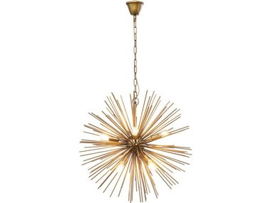Kare Pendant Lamp Beam Brass
