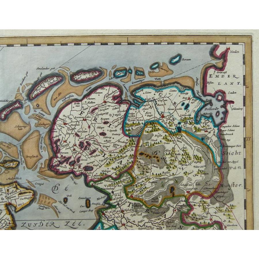 Gouldmaps Verkocht - Republiek der Nederlanden; J. Blaeu - Belgica Foederata. - 1662