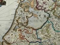 Gouldmaps Republiek der Nederlanden; J. Blaeu - Belgica Foederata. - 1662