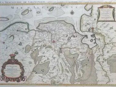 Gouldmaps Groningen; H.Jaillot - La Seigneurie de Groningue (..) - 1696