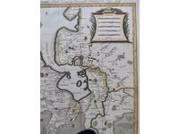 Gouldmaps Groningen; H.Jaillot / P. Mortier - La Seigneurie de Groningue (..) - 1696