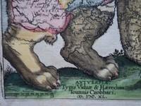 Gouldmaps Leo Belgicus; F. Strada - De Bello Belgico (..)-1640