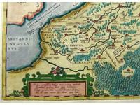 Gouldmaps De Nederlanden; A. Ortelius - Belgii Veteris Typus. - 1584