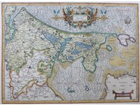 Gouldmaps Holland; G. Mercator / J. Hondius - Hollandt Comitatus Utrecht Episcop: - 1613