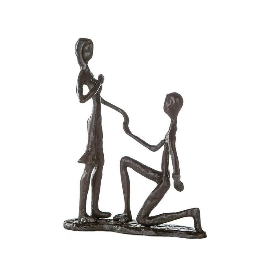 Casablanca Metal-Sculpture 'Marry Me'