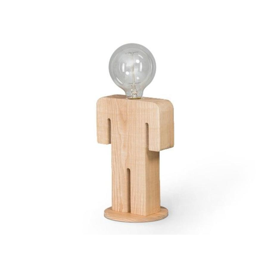Expo Trading Tafellamp Hout Man