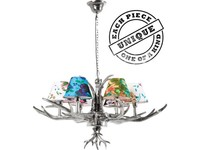 Kare Pendant Lamp Antler Flowers 6-Branched