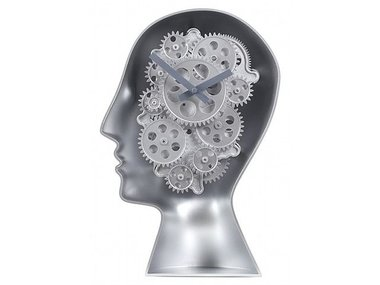 Invotis Brains Table Gear Clock