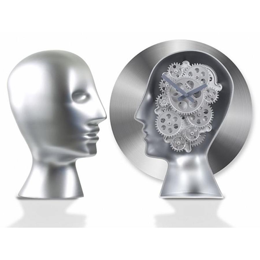 Invotis Brains Table Gear Clock