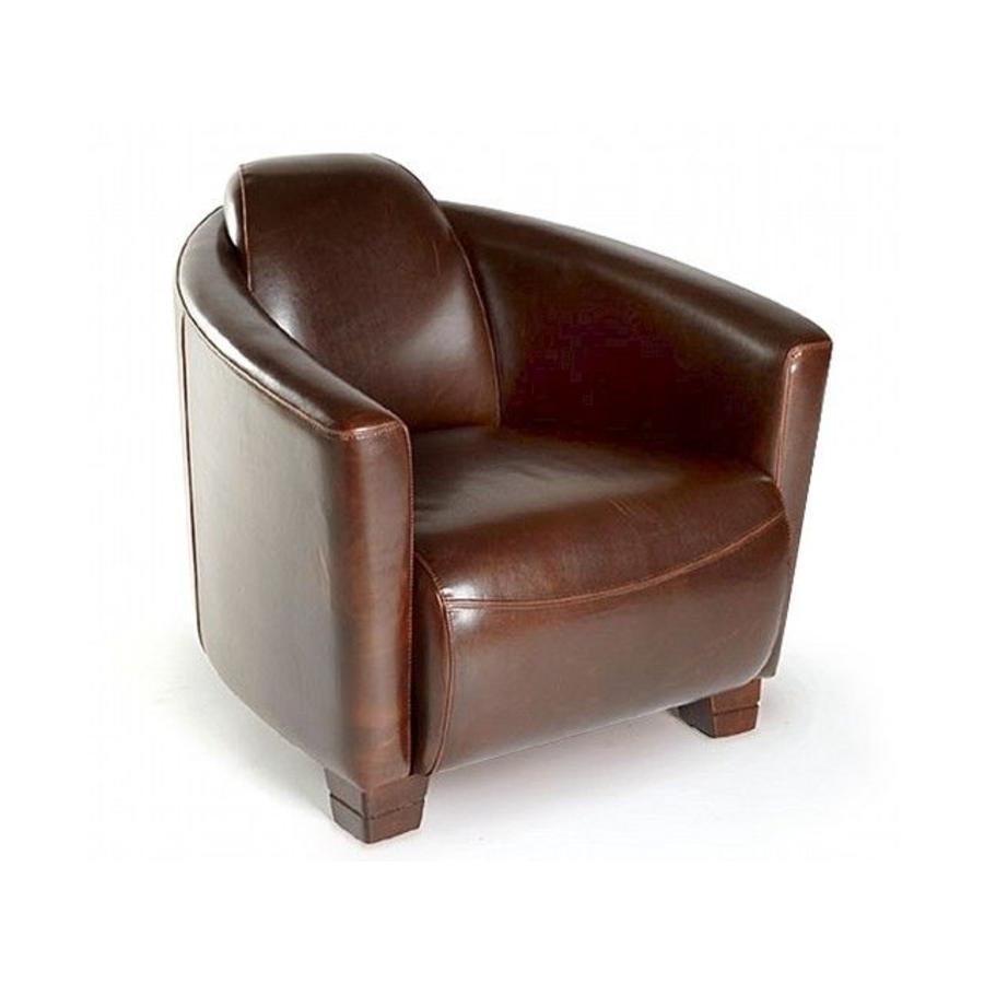 La Casa di Caesar Club Chair Heleno Leather