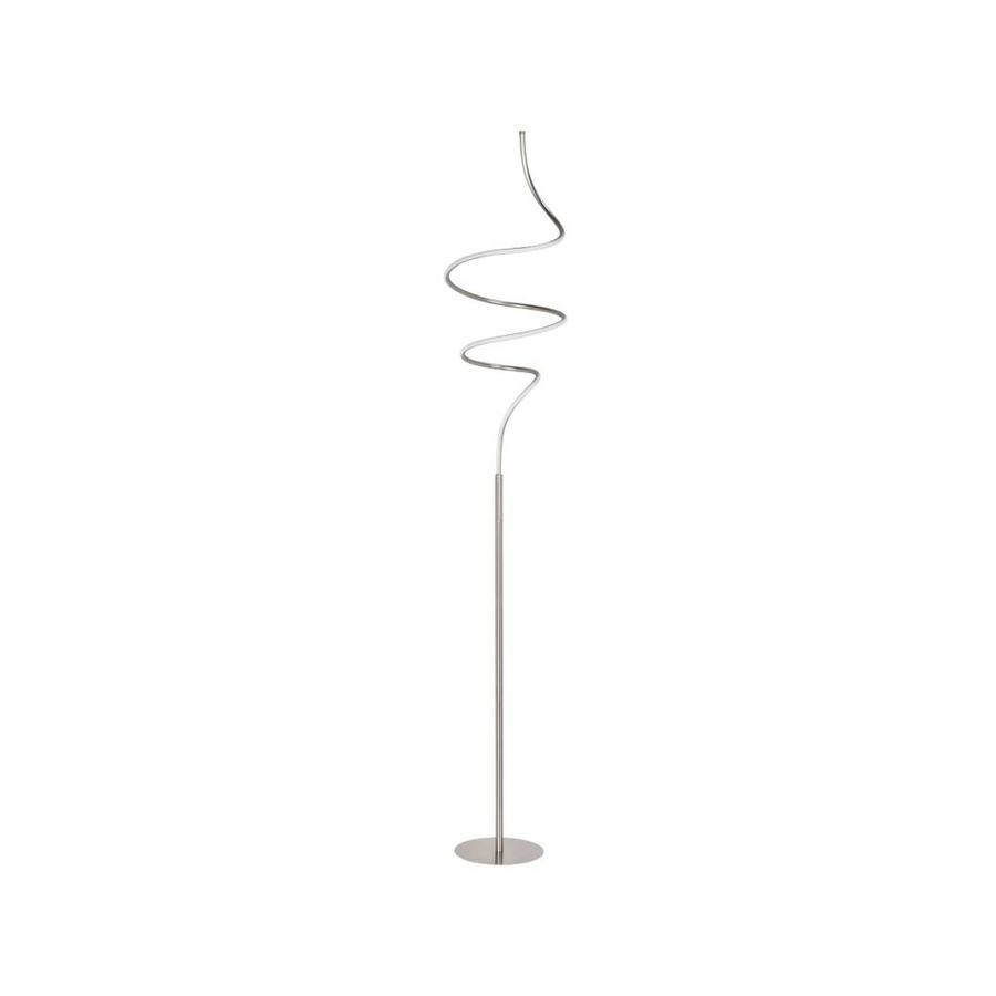 High Light Vloerlamp Curle Mat Chroom
