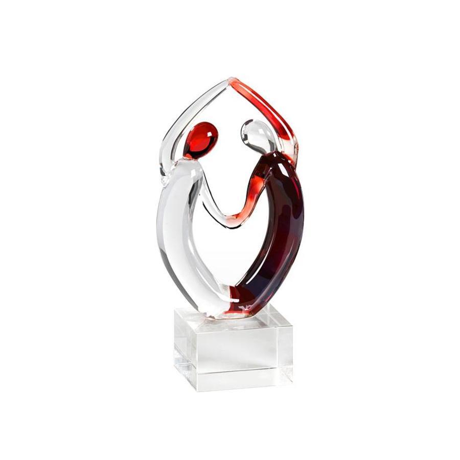 Casablanca Miniatuur Glassculptuur 'Samba' B