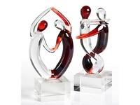 Casablanca Miniatuur Glassculptuur 'Samba' A