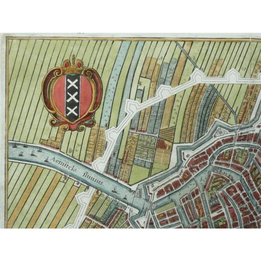 Gouldmaps Amsterdam - M. Merian - 1641