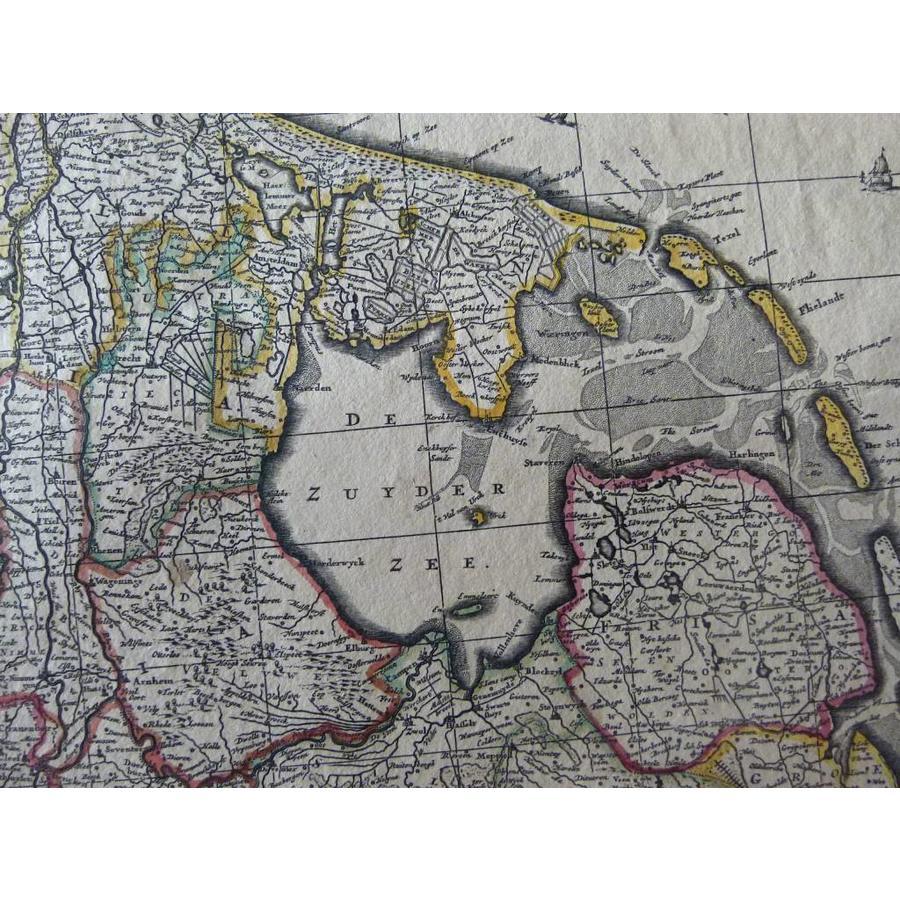 Gouldmaps XVII Provinciën; N. Visscher II - Germaniae Inferioris XVII Provinciarum (..) - 1684