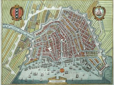 Gouldmaps Amsterdam - M. Merian - Amsterdam. - 1641