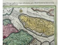 Gouldmaps Zeeland; M. Seutter - Zeelandiae Comitatus (..) - 1734