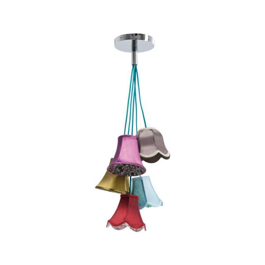 Kare Pendant Lamp Saloon Flowers 5