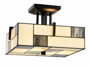 Art Deco Trade Tiffany Plafonnière Mondriaan