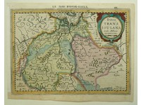 Gouldmaps Overijssel; J. Cloppenburgh / P. Kaerius - Ditio Transisulana - 1630